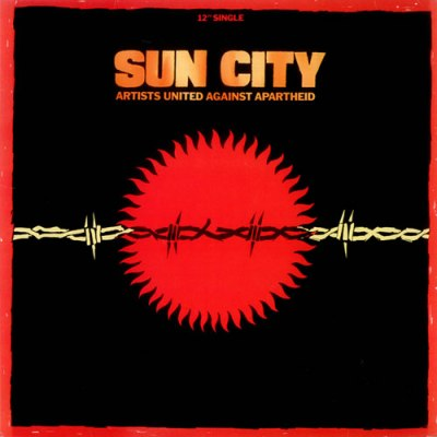 Artists United Against Apartheid - Sun City - Cover