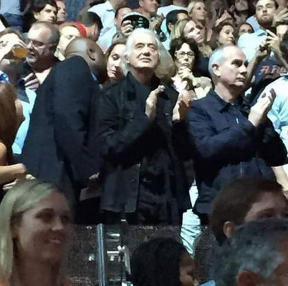 Jimmy Page [New York - 23 Luglio 2015]   VIA: @u2vision