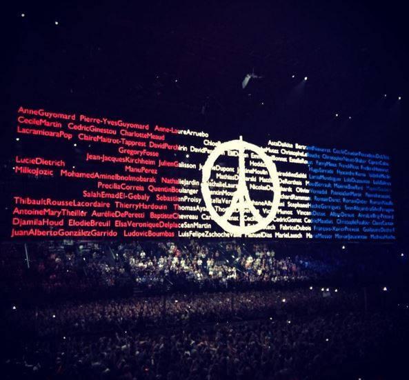 Parigi 3 - Tributo alle vittime