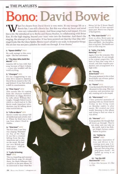 David Bowie Bono